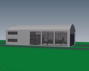 EN-447-001-D Spitfire hangar
